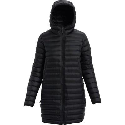 バートン Burton レディース ダウン・中綿ジャケット アウター evergreen long down jacket True Black