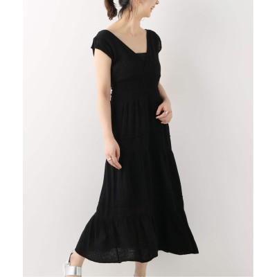 レディース スピック&スパン 【FELICITE APPAREL】 Smocked Dress ブラック フリー