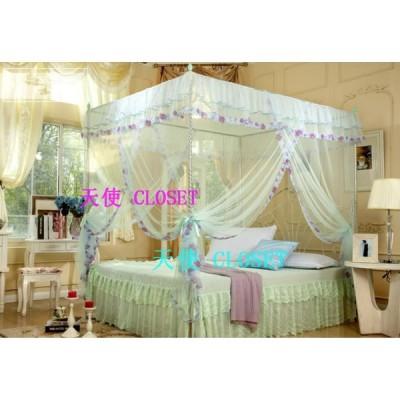 蚊帳 かや カーテン お姫様系 天使の世界へ 欧風|シングル|ダブル|クィーンサイズあり ky26