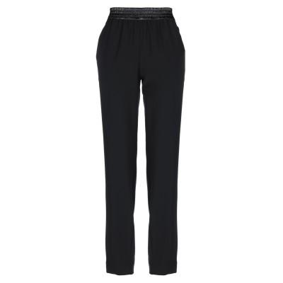 パコ ラバンヌ PACO RABANNE パンツ ブラック 38 ポリエチレン / コットン パンツ