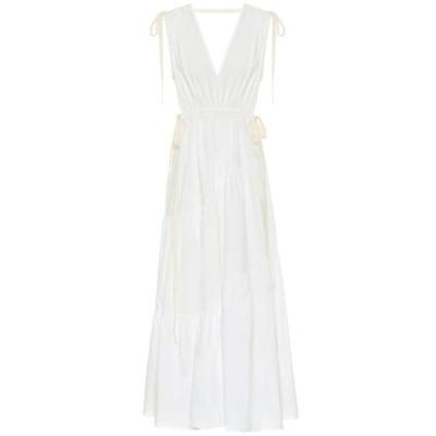 リーマシューズ Lee Mathews レディース ワンピース ワンピース・ドレス cotton dress Neutral
