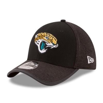 ユニセックス スポーツリーグ フットボール Jacksonville Jaguars New Era 2017 Training Camp Official 39THIRTY Flex Hat - Black 帽子