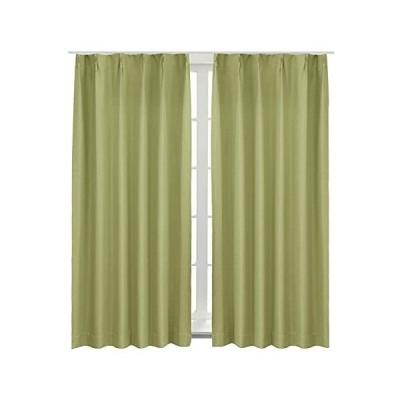 Bedsure 完全遮光カーテン 防音 遮熱 一級遮光 断熱 遮音 グリーン 目隠し かーてん 幅100cm×丈178cm しゃ