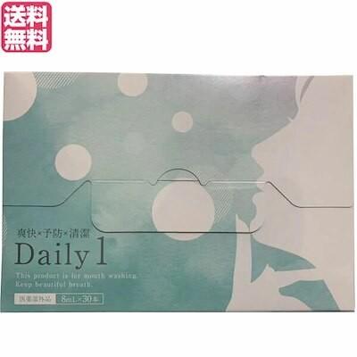 デイリーワン Daily1 マウスウォッシュ スティックタイプ 1箱30本 医薬部外品