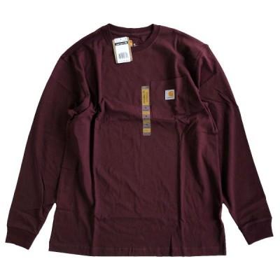CARHARTT /  L/S WORKWEAR POCKET TEE   PORT カーハート 長袖Tシャツ