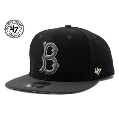 47ブランド スナップバックキャップ 帽子 47BRAND メンズ レディース MLB ブルックリン ドジャース bk