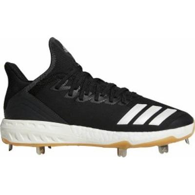 アディダス メンズ スニーカー シューズ adidas Men's Icon 4 Gum Metal Baseball Cleats Black/White