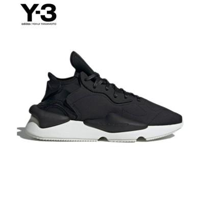 Y-3 ワイスリー メンズ スニーカー Y-3 KAIWA FZ4327 ブラック コアホワイト adidas yohji yamamoto ヨウジヤマモト 送料無料