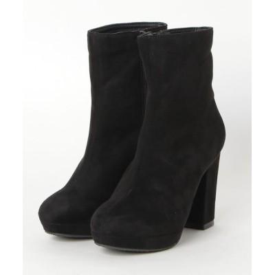 ZealMarket/SFW / 10cmチャンキーヒールストーム美脚ブーツ WOMEN シューズ > ブーツ