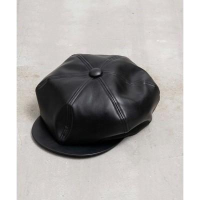 帽子 《ユニセックスアイテム》インポートファブリックウールキャスケット 【MAISON SPECIAL/メゾンスペシャル】