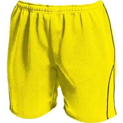 ウンドウ ウィメンズバレーボールパンツ 黄×Dグレー 110 P1690-93-110 <2020>