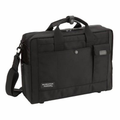 マンハッタンパッセージ LUX2 ブリーフケース #8560 ブラック│ビジネスバッグ・ブリーフケース 2WAYバッグ