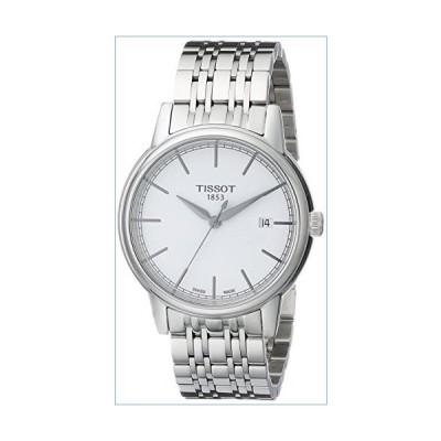 Tissot Men's T0854101101100 Carson Analog Quartz Casual Silver Watch並行輸入品