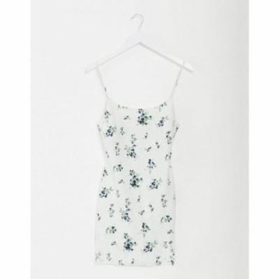 エイソス ASOS DESIGN レディース ワンピース サンドレス ワンピース・ドレス cami mini slip sundress in floral print