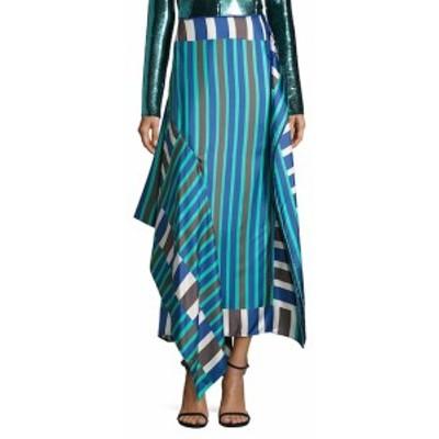 ダイアンフォンファステンバーグ レディース スカート Side-Tie Bias Silk Skirt