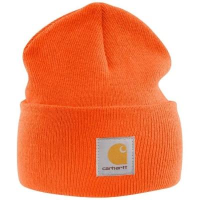カーハート Carhartt ユニセックス 帽子 ニットキャップ A18 Watch Hat Brite Orange