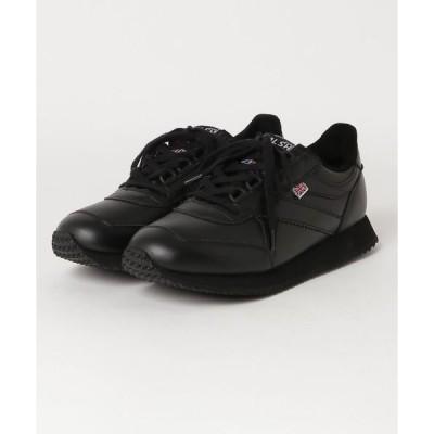 スニーカー WALSH Voyager Leather (BLACK)