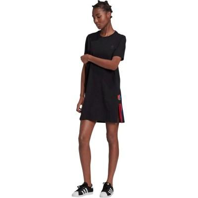 アディダス adidas Originals レディース ワンピース ワンピース・ドレス 3-D Trefoil Tee Dress Black