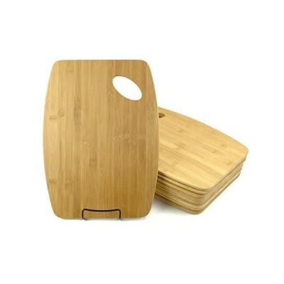 【送料無料】バルクプレーンバンブーカッティングボード(12枚セット)   カスタマイズされた彫刻ギフト 