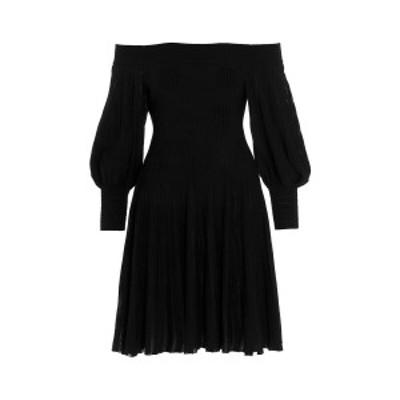 ANTONINO VALENTI/アントニーノ ヴァレンティ Black   Gianna' dress レディース 春夏2021 1241MAV21S6305 ju