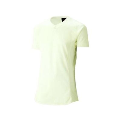ゴールドステージ スクールブレードゲームシャツ (アイボリ)  ASICS アシックス (BAS101-02)
