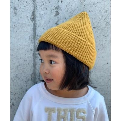 babybaby / 【GRIN BUDDY / グリンバディ】キッズとんがりニットキャップ / Triangle Knit Watch KIDS 帽子 > ニットキャップ/ビーニー