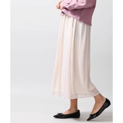スカート WEGO/シフォンロングスカート