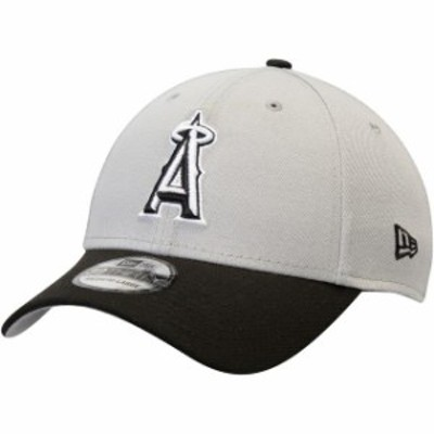 New Era ニュー エラ スポーツ用品  New Era Los Angeles Angels Gray/Black Team Classic 39THIRTY Flex Hat