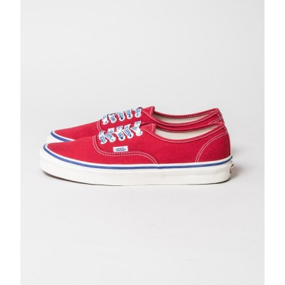 (OUTLET/返品・交換不可)VANS ヴァンズAUTHENTIC 44 DX (ANAHEIM) (RED)