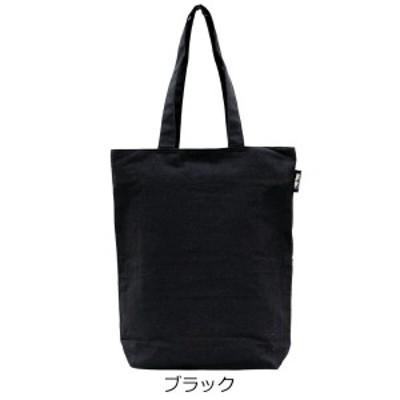 オーガニックコットンバッグ 「ブラック」 A4 トートバッグ [Simple Line]
