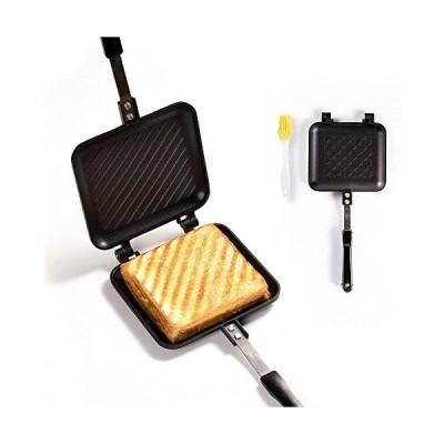 ホットサンドメーカー-ホットサンドパン-上下取り外し可能-焼き目がサクサク-INS-JUKE