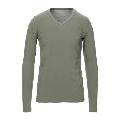 マジェスティック MAJESTIC FILATURES T シャツ ミリタリーグリーン M コットン 100% T シャツ