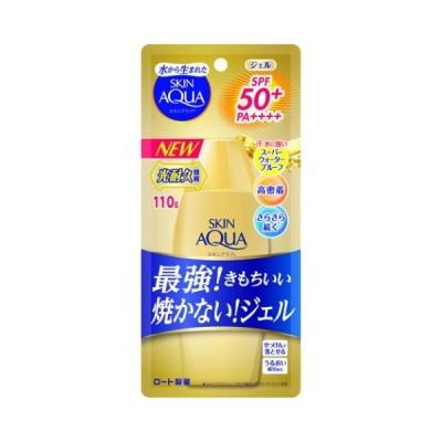 スキンアクア スーパーモイスチャージェル ゴールド 110g /スキンアクア 日焼け止め (毎)
