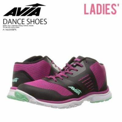 AVIA (アヴィア) GFC REINA フィットネス エクササイズ ダンス BLACK/BURGUNDY (ブラック/バーガンディ) A1465WBPK