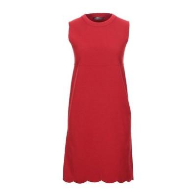 D.EXTERIOR ニットドレス ファッション  レディースファッション  ドレス、ブライダル  パーティドレス レッド