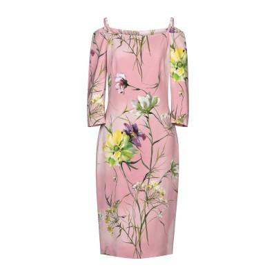 ブルマリン BLUMARINE 7分丈ワンピース・ドレス ピンク 40 レーヨン 96% / ポリウレタン 4% 7分丈ワンピース・ドレス