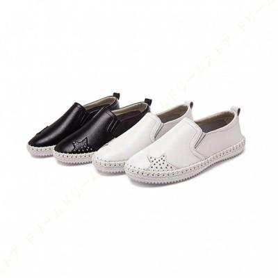 レディース 大きいサイズ スニーカー 軽量 スリッポン 黒 美脚 ぺたんこ 厚底靴 ローカット 履きやすい 歩きやすい 疲れない 通気性 婦人靴 身長アップ