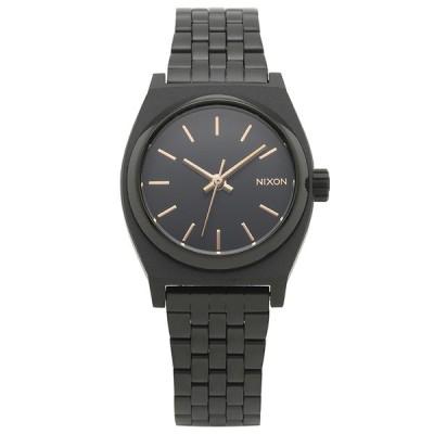 ニクソン NIXON 腕時計 A399-957 ブラック ステンレス SMALL TIME TELLER