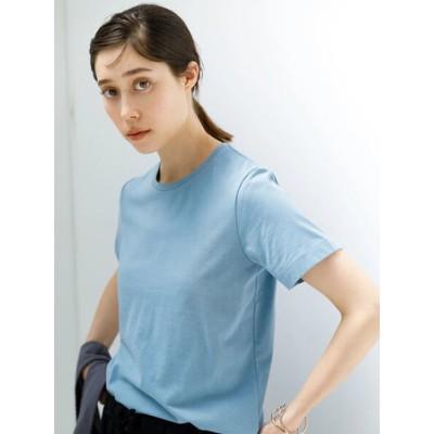 きれいめクルーネックTシャツ