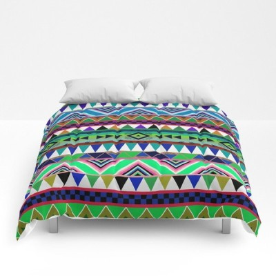 ソサエティシックス Society6 ブランド ベッド ベッドリネン bed linen コンフォーター 掛け布団 - ツインサイズ