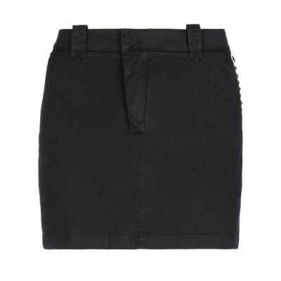 メイソンズ MASON'S ミニスカート ブラック 42 コットン 98% / ポリウレタン 2% ミニスカート