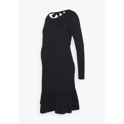 ママリシャス レディース ワンピース トップス MLSASJA DRESS - Jersey dress - black black