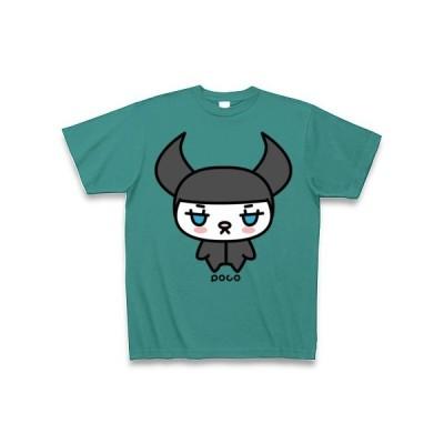 ドッグライダー Tシャツ Pure Color Print(ピーコックグリーン)