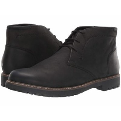 Florsheim フローシャイム メンズ 男性用 シューズ 靴 ブーツ チャッカブーツ Field Chukka Boot Black Nubuck【送料無料】