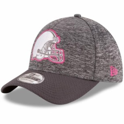 New Era ニュー エラ スポーツ用品  New Era Cleveland Browns Heather Gray 2016 Breast Cancer Awareness Sideline 39THIRT