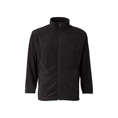 特別価格フェザーライトメンズフルジップTwillネックマイクローフリースジャケット US サイズ: S カラー: ブラック好評販売中