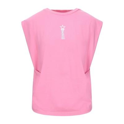 ステラ マッカートニー STELLA McCARTNEY T シャツ ピンク 34 コットン 100% / レーヨン T シャツ