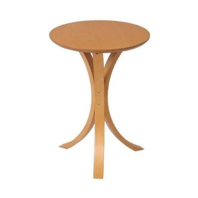 サイドテーブル ナチュラル 幅40 高さ54 テーブル ミニテーブル ソファサイドテーブル ベッドサイドテーブル ナイトテーブル 丸テーブル