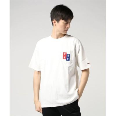 tシャツ Tシャツ PONY / 16/-USAコットン天竺 クルー胸ポケ刺繍TEE