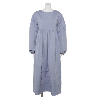 The Muse Open Back Midi Dress (BLUE)